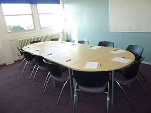 Guildford College seminar room