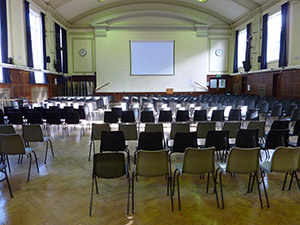 Guildford College main hall