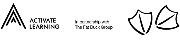 fat duck group and activate learning logo